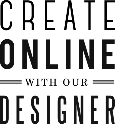 Create Online With Our Designer